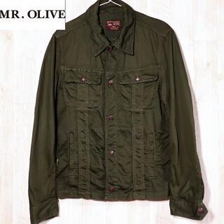 ミスターオリーブ(Mr.OLIVE)のMR.OLIVE×SHIPS ミスターオリーブ×シップス コットンジャケット S(ミリタリージャケット)