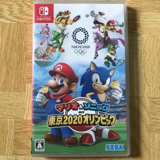 ニンテンドースイッチ(Nintendo Switch)の任天堂switch マリオ&ソニック AT 東京2020オリンピック(家庭用ゲームソフト)
