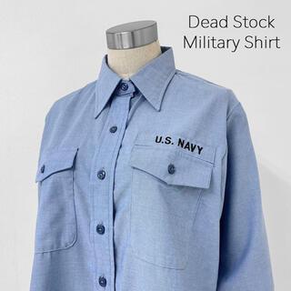 HYKE - ヴィンテージ オールド 未使用 ミリタリー シャンブレーシャツ アメリカ軍