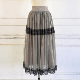 snidel - Her lip to♡福袋Tulle skirtチュールスカートbeige