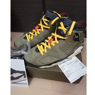 ナイキ(NIKE)の【28】Nike Travis Scott Air Jordan 6 Retro(スニーカー)