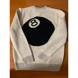 STUSSY - STUSSY 8 BALL 40TH MOHAIR SWEATER  M