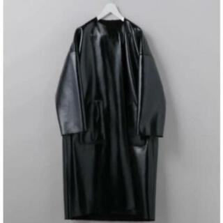 BEAUTY&YOUTH UNITED ARROWS - ROKU エナメルリバーシブルコート ブラック 美品