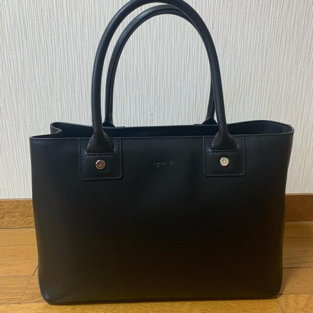agnes b.(アニエスベー)のアニエスベー トートバッグ 黒 新品! レディースのバッグ(トートバッグ)の商品写真