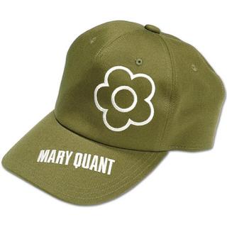 マリークワント(MARY QUANT)の新品 マリークワント キャップ 帽子 カーキ(キャップ)