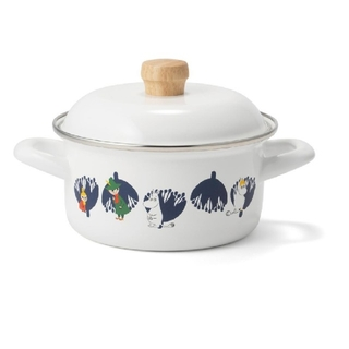 フジホーロー(富士ホーロー)のムーミン ホーロー キャセロール鍋 新品未使用(鍋/フライパン)