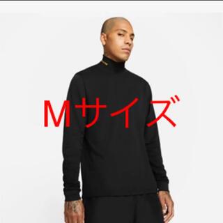 NIKE - NOCTA ブラックモックネックトップ Mサイズ