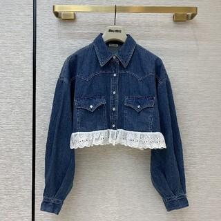 miumiu - 美品 MIUMIU ミュウミュウ ジャケット デニムジャケット 長袖