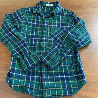 ベベ(BeBe)のチェックシャツ 150(ブラウス)