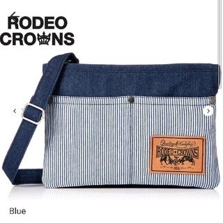 ロデオクラウンズ(RODEO CROWNS)のRODEOCROWNS 新品タグ付 デニムショルダーバック定価5,280円(ショルダーバッグ)
