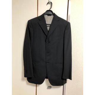 スーツカンパニー(THE SUIT COMPANY)のスーツカンパニー スーツブラック パンツ2本 スーツカバー付(セットアップ)