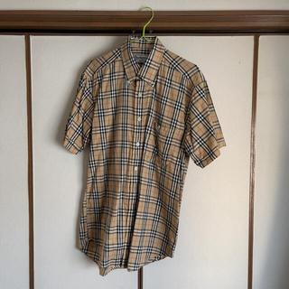 バーバリー(BURBERRY)のBURBERRY ショートスリーブノバチェックシャツ size M(シャツ)