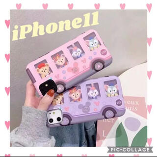 ダッフィー(ダッフィー)の新品 iPhone11 ダッフィー フレンズ スマホケース ディズニー カバー(iPhoneケース)