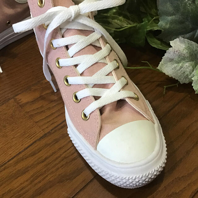 CONVERSE(コンバース)の春色コンバース‼️ くすみピンクお洒落スニーカー レディースの靴/シューズ(スニーカー)の商品写真