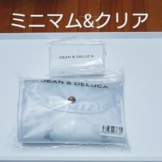 DEAN & DELUCA - 新品 DEAN&DELUCA ショッピングバッグ クリア&ミニマム セット