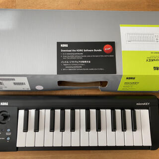コルグ(KORG)のKORG micro key 25鍵盤(有線タイプ)(MIDIコントローラー)