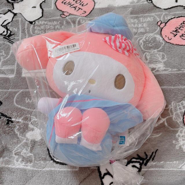 マイメロディ(マイメロディ)のマイメロディ  あこがれおしごとBIGぬいぐるみ エンタメ/ホビーのおもちゃ/ぬいぐるみ(ぬいぐるみ)の商品写真