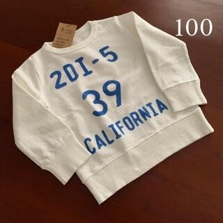 ニードルワークスーン(NEEDLE WORK SOON)の⭐️未使用品 ニードルワーク オフィシャルチーム トレーナー 100サイズ(Tシャツ/カットソー)