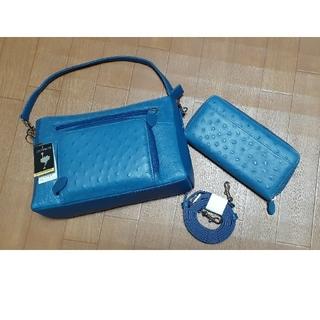 オーストリッチ(OSTRICH)のオーストリッチ バッグ 財布 新品未使用(ハンドバッグ)