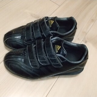 アディダス(adidas)のadidasスパイク黒 19.5㎝(シューズ)