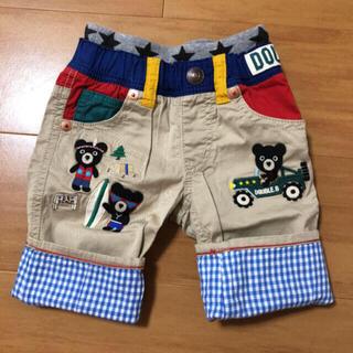 DOUBLE.B - ミキハウス ダブルビー 豪華パンツ パンツ 100 美品