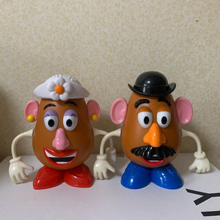 Disney - ミスターポテトヘッド ミセスポテトヘッド フィギュア セット販売