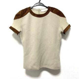 ヴァレンティノ(VALENTINO)のバレンチノ 半袖セーター サイズS美品  -(ニット/セーター)
