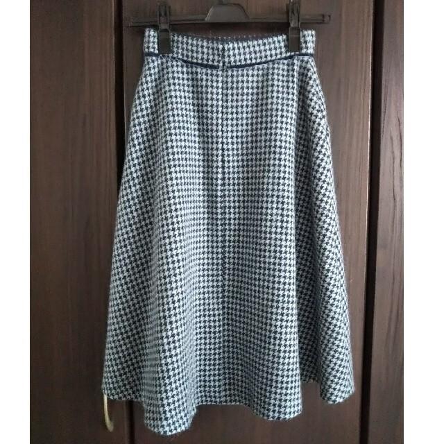 PROPORTION BODY DRESSING(プロポーションボディドレッシング)のプロポの千鳥柄フレアスカート(ウエストかなり細めの方に) レディースのスカート(ロングスカート)の商品写真