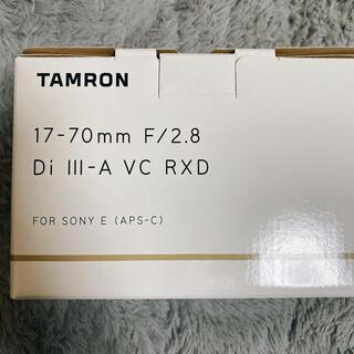 タムロン(TAMRON)のtamron 17-70(レンズ(ズーム))