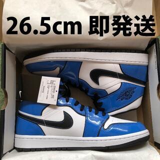 ナイキ(NIKE)の26.5cm 即発送 NIKE AIR JORDAN 1 MID SE BLUE(スニーカー)