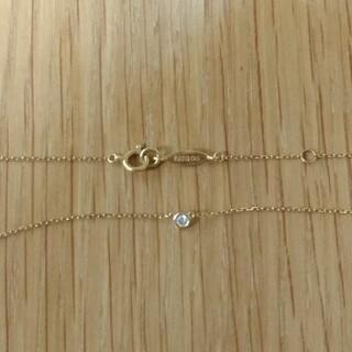 アーカー(AHKAH)のAHKAH ヌーディーダイヤネックレス(ネックレス)
