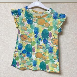 グラニフ(Design Tshirts Store graniph)の子供服 半袖 グラニフ フリル 90(Tシャツ/カットソー)