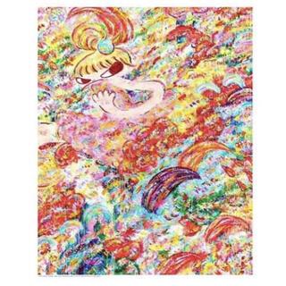 ロッカクアヤコ 魔法の手 展示会ポスター 限定1000枚 千葉県立美術館(その他)