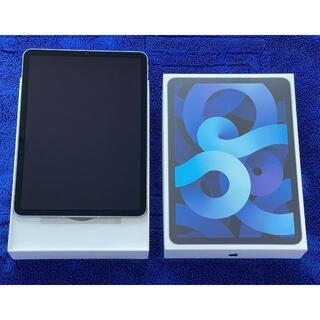 Apple - iPad Air4(第4世代) セルラー SIMフリー 64GB ブルー 美品