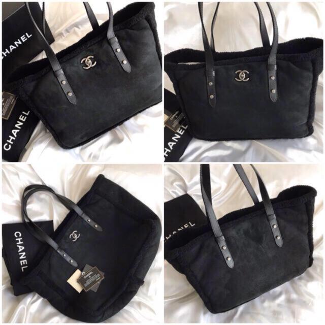 CHANEL(シャネル)の美品♡早い者勝ち♡シャネル CHANEL ターンロック ムートン トートバッグ レディースのバッグ(ショルダーバッグ)の商品写真