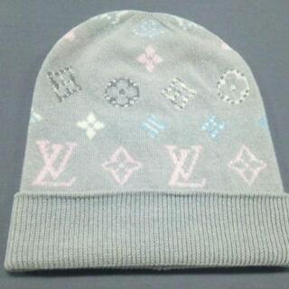ルイヴィトン(LOUIS VUITTON)のルイヴィトン ニット帽美品  M70844(ニット帽/ビーニー)