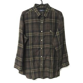 バーバリー(BURBERRY)のバーバリーロンドン 長袖シャツ サイズM(シャツ)