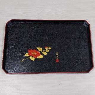 合成漆器 万能トレー 便利トレー ベンリートレー 黒 和食器 和食 おぼん(食器)