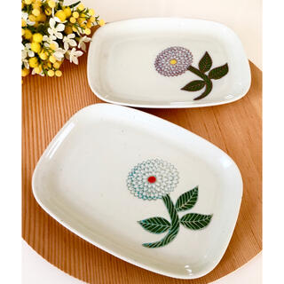 ハサミ(HASAMI)の波佐見焼 プレートセット ☻ 白山陶器 クラスカ 九谷青 マリメッコ お好きな方(食器)