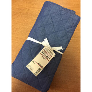 ムジルシリョウヒン(MUJI (無印良品))の無印良品(MUJI)デニム座布団カバー(クッションカバー)55cm×59cm(クッションカバー)