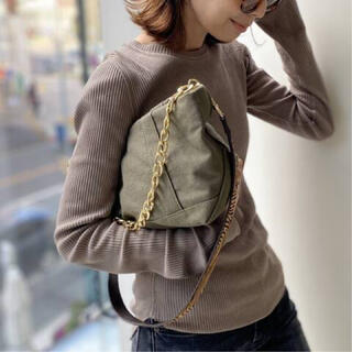 L'Appartement DEUXIEME CLASSE - GOOD GRIEF グッドグリーフ Canvas Cluch Bag(L)