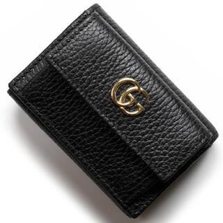 Gucci - 美品  GUCCI 財布  プチマーモント三つ折り財布