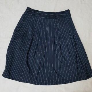 ダブルスタンダードクロージング(DOUBLE STANDARD CLOTHING)のダブルスタンダードクロージング ストライプスカート(ひざ丈スカート)