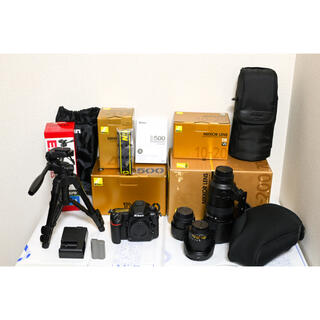 Nikon - 【新同品】D500他 単焦点・望遠レンズ 他