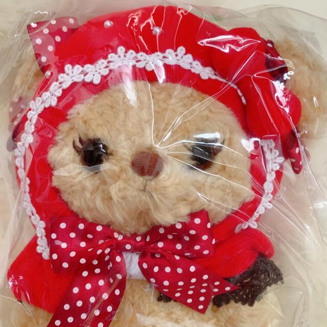 BABY,THE STARS SHINE BRIGHT(ベイビーザスターズシャインブライト)のイチゴになりたいくまくみゃちゃん レディースのバッグ(ショルダーバッグ)の商品写真