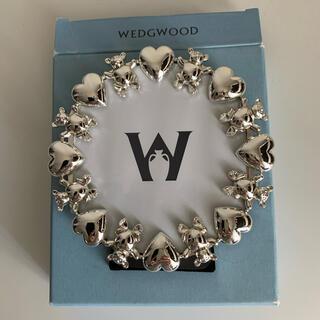 WEDGWOOD - 未使用 ウエッジウッド テディベアラウンドフレーム フォトフレーム 写真立て