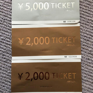 SCOT CLUB - 値下❤️ヤマダヤ スコットクラブ scot club チケット 9000円分❤️
