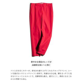 セオリーリュクス(Theory luxe)のtheory luxe  Stretch Cotton Somi (クロップドパンツ)