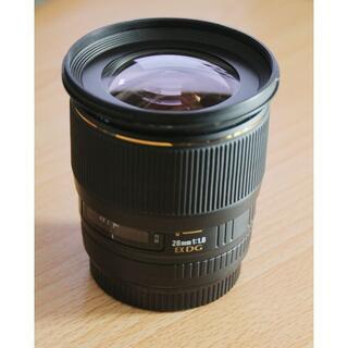 シグマ(SIGMA)のSIGMA 28mm F1.8 EX DG ASL MACRO キヤノン用(レンズ(単焦点))