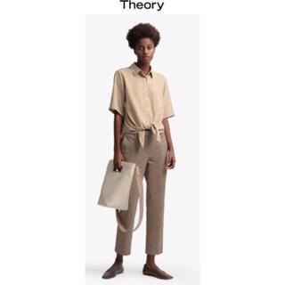 セオリー(theory)のStretch Canvas Treeca 4 J 美品(クロップドパンツ)